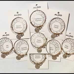 Aldo Beautiful gold tone zodiac bracelet NWT
